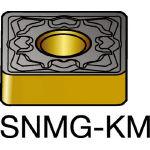サンドビック TMax P 旋削用ネガ・チップ 3215 SNMG 12 04 12KM(OP:3215)/10個【6152651】