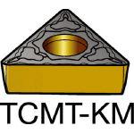 サンドビック コロターン107 旋削用ポジ・チップ H13A TCMT 16 T3 04KM(OP:H13A)/10個【6163815】