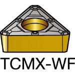 サンドビック コロターン107 旋削用ポジ・チップ 1525 TCMX 11 03 04WF(OP:1525)/10個【6066437】