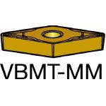 サンドビック コロターン107 旋削用ポジ・チップ 2035 VBMT 16 04 08MM(OP:2035)/10個【1721429】