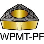 サンドビック コロターン111 旋削用ポジ・チップ 5015 WPMT 04 02 04PF(OP:5015)/10個【2265095】