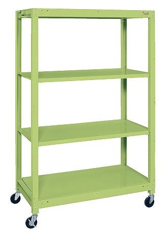 卓抜 サカエ sakae 物流機器 ラック 棚 作業台 SLN-1254R スチールラック 作業用品 個人宅配送不可 豊富な品 ワークテーブル