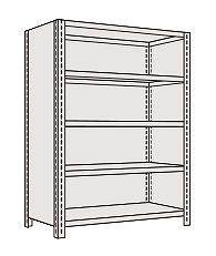 (お得な特別割引価格) サカエ 物品棚LE型 LE1545 【個人宅配送】:タニックスショップ 店-DIY・工具