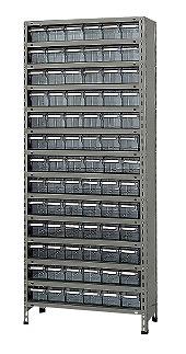 サカエ 物品棚LEK型樹脂ボックス LEK2124-78T