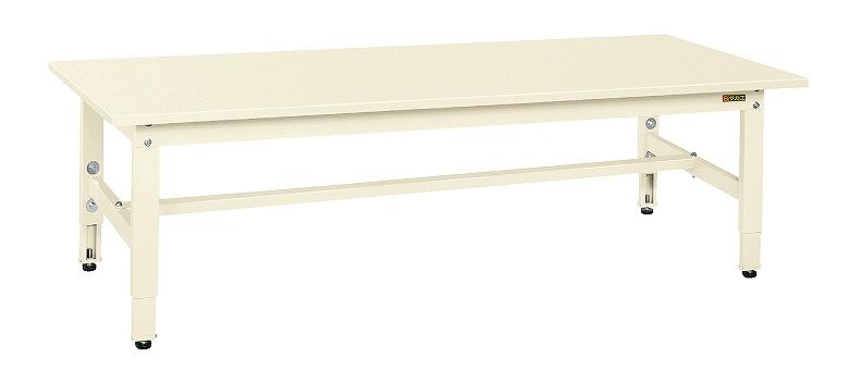 サカエ 低床用軽量高さ調整作業台TKK4タイプ TKK4-186SI 【個人宅配送不可】