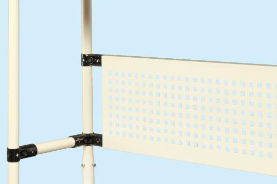 サカエ スペーシア架台用オプションパンチングパネル SPK-15P 【個人宅配送不可】