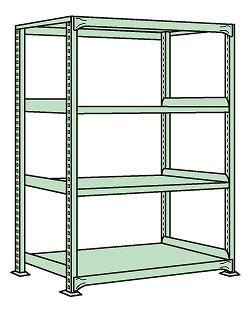 【あすつく】 サカエ 軽中量棚 NDW-1744 【個人宅配送】:タニックスショップ 店-DIY・工具