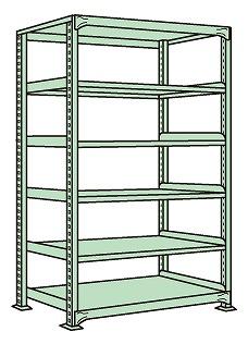 サカエ sakae 物流機器 美品 ラック 棚 作業台 個人宅配送不可 ワークテーブル 全店販売中 NL-2546 中量棚NL型 作業用品