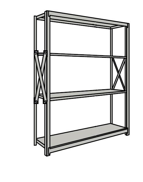 新しい季節 サカエ 重量棚NR型 NR-2544 【個人宅配送】:タニックスショップ 店-DIY・工具