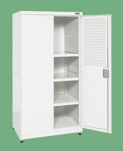 サカエ パンチング保管庫(パンチング無し) PNH-1263P 【個人宅配送不可】