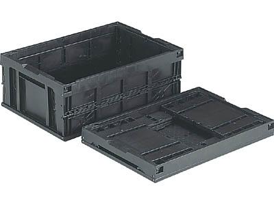 三甲(サンコー) オリコン(底面突起有り) 55B(BK)(導電)(550950)