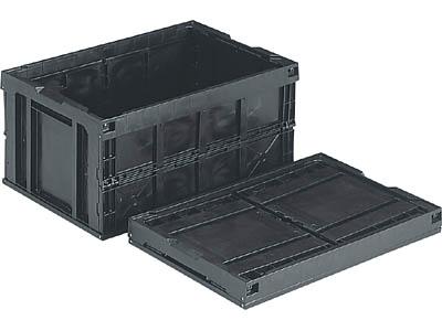 三甲(サンコー) オリコン(底面突起無し) 75B(2)BK(導電)(550360)