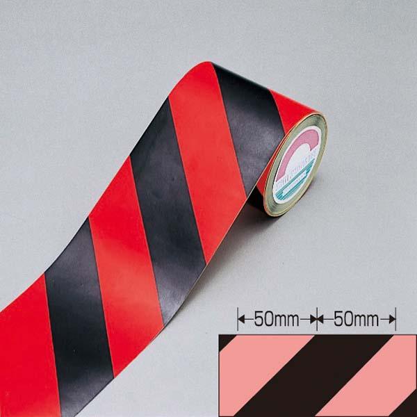 日本緑十字社 蛍光トラテープ TR4-C 90幅×10m×0.2 (256403)