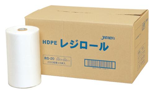 ジャパックス レジロール RG20 0.01×200×300mm[6巻入]
