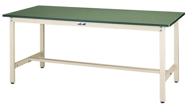 山金工業(ヤマキン) ワークテーブル500シリーズ 固定式H740mm SJR-1275-GG 【個人宅配送不可商品】
