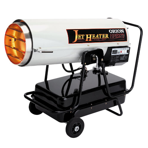 オリオン機械 可搬式温風機 ジェットヒーター HPE370