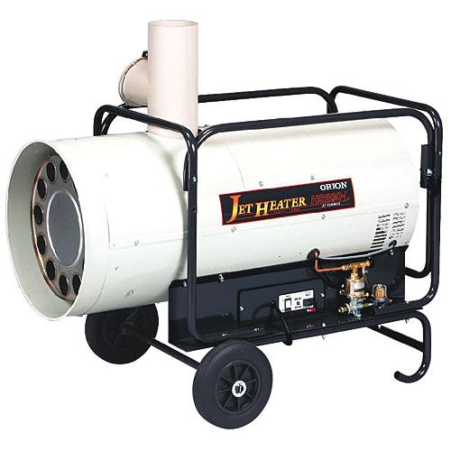 オリオン機械 可搬式温風機 ジェットヒーター HS290-L