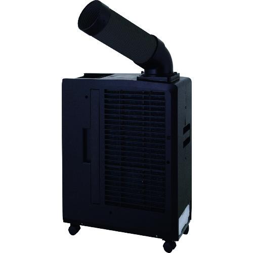 スイデン(Suiden) ポータブルスポットエアコン SS-16MZB-1 ブラック [単相100V・首振り無し]【個人宅配送不可】