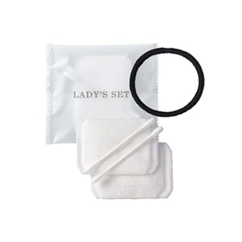 『業務用』『使い捨て』『個包装』ホテルアメニティ レディースセット/ レディスセット(LADY'S SET) x 1000個セット