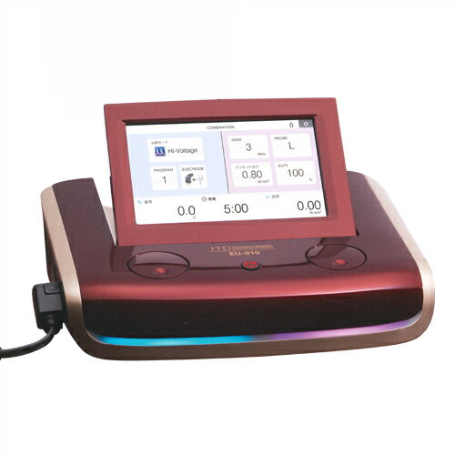 ·低周波治療器·超音波治療器組合せ理学療法機器·伊藤超短波 コンビネーション刺激装置 EU-910 【smtb-s】