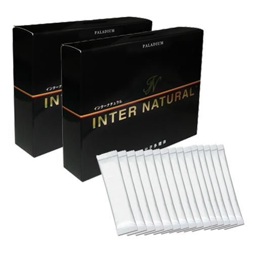 「あす楽対象」「正規代理店」インターナチュラル(INTER NATURAL) 30包x2箱+15包プレゼント付き セット新しいコンセプトの健康サプリメント 『プラスおまけ付き』【smtb-s】【HLS_DU】