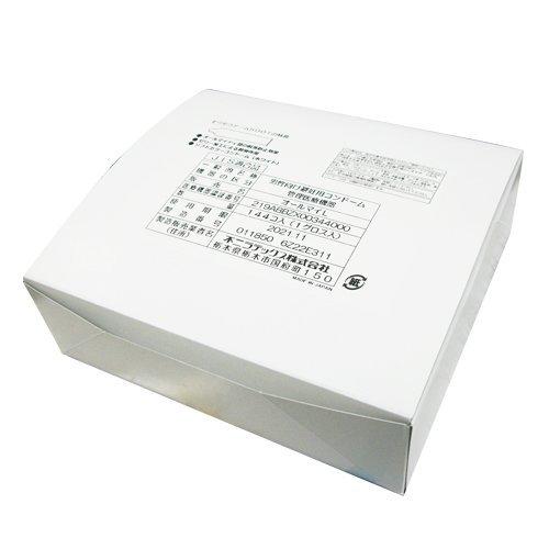 ◆「あす楽対象」「男性向け避妊用コンドーム」業務用スキン 不二ラテックス Lサイズ 144個入り x10箱(計1440個) ※完全包装でお届け致します。【smtb-s】