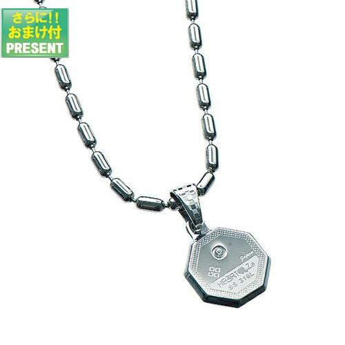 『ハーツネックレス・ブレスレット』HEARTZ ハーツ スーパーメタリック八角形ネックレス『プラス選べるおまけ付き』【smtb-s】