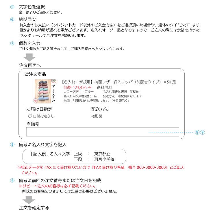 「名入れ:新規用」子供用レザー調スリッパ   x 80足(型版代+印刷代込み!) 3色からお選びください! 「※こちらの商品はメーカー直送のため代引き不可商品となります。」【smtb-s】
