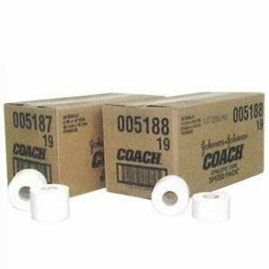 「ジョンソン&ジョンソン」J&Jホワイトテープ38mm(1ケース)「233303」固定テーピング