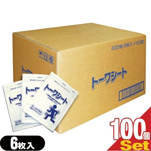 「柔整向け冷却材」トーワシート 14x10cm(1袋6枚入り) x100個(1ケース売り)【smtb-s】