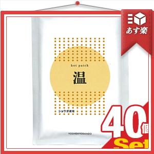 『あす楽対象』『ショウガ粉末使用』ホットパッチ 10x14cm(10枚入り) x40袋 【smtb-s】