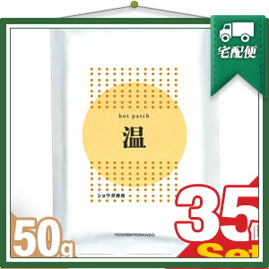 『ショウガ粉末使用』ホットパッチ 10x14cm(10枚入り) x35袋 【smtb-s】