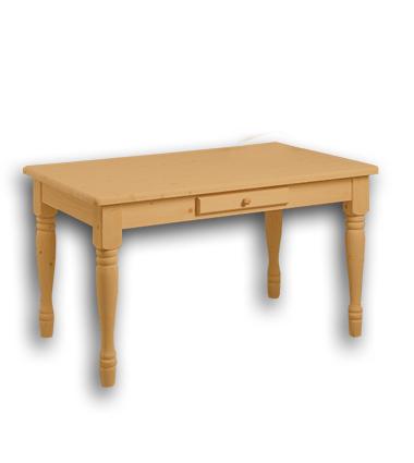 ダイニングテーブルS塗装済キット[丸脚]【北海道/沖縄/離島は送料別途見積】
