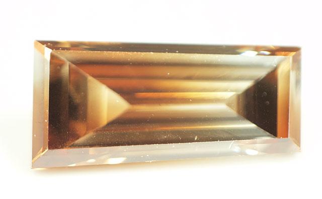バイカラーダイヤモンド ルース 0.217ct 無色 + 茶色系の超レアダイヤ 【中央宝石研究所宝石ソーティング袋付】【送料無料】