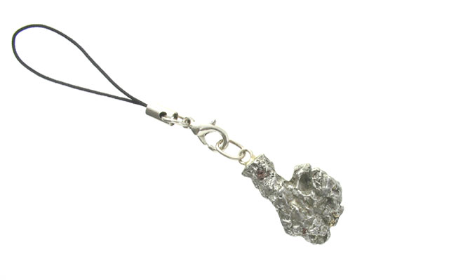 隕石 ( メテオライト ) 携帯ストラップ(ケータイストラップ)・根付 【送料無料】