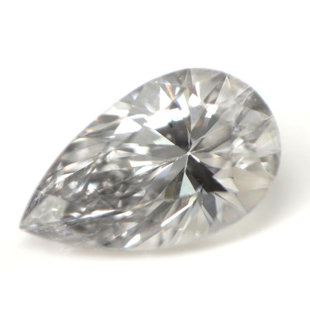 天然グレーダイヤモンド ルース(裸石) 0.071ct, VVS-2 【中央宝石研究所ソーティング袋付】【送料無料】