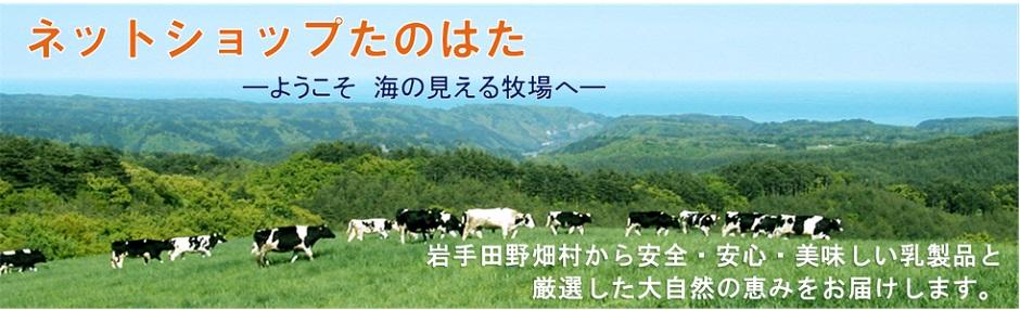 ネットショップたのはた:岩手県田野畑村から自慢の自然の恵みをお届けします。