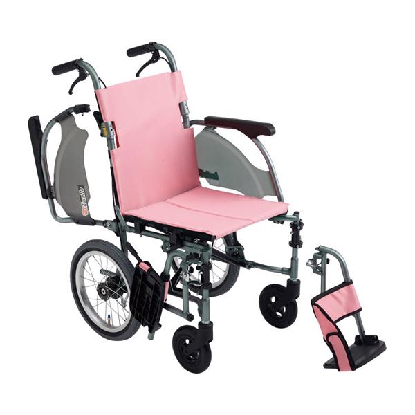 介助型車いす カルッタ CRT-4 座幅40cm ミキ 車椅子 介護用品 hkz