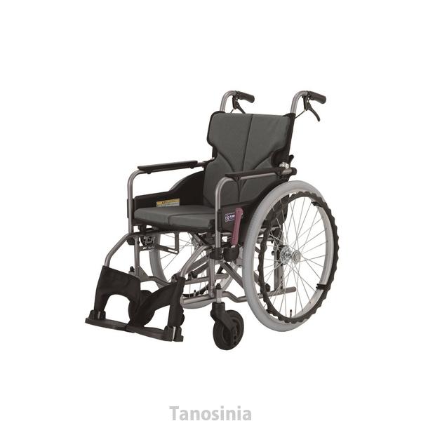 自走用車いす モダンシリーズ Aスタイル 標準タイプ KMD-A22-40-M 中床 車椅子 介護用品 hkz 車いすタイヤカバープレゼント中