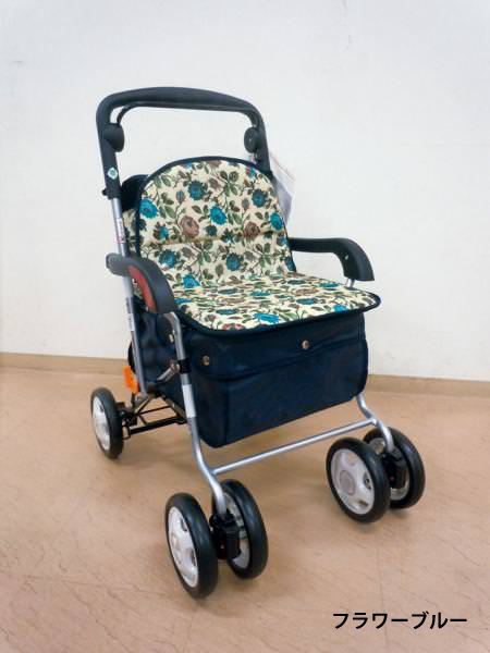 きほんのシルバーカー 介護用品 歩行車 折りたたみシルバーカー (軽量 小型 収納 折り畳み 介護 高齢者)