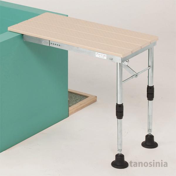 ひのき入浴台 (折りたたみ式) 介護用品 バスボード