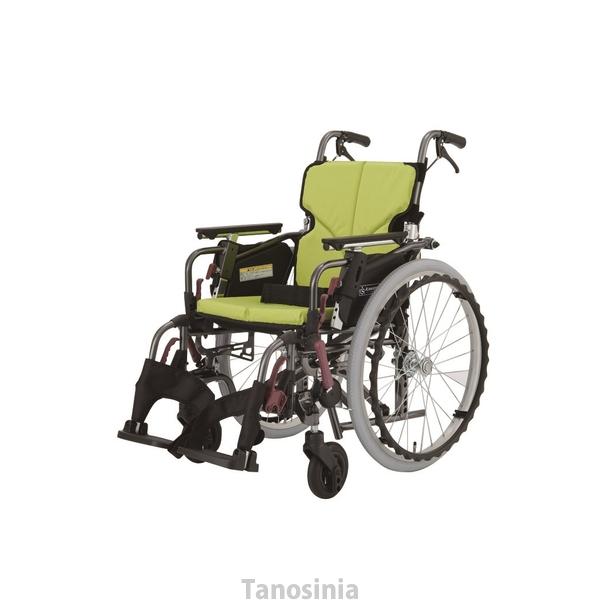 自走用車いす モダンシリーズ Cスタイル 多機能タイププラス KMD-C22-40-M 中床 車椅子 hkz 車いすタイヤカバープレゼント中