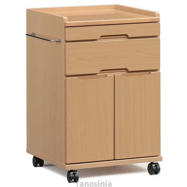 介護用品 開き戸床頭台 ロータイプ IM-801(S)