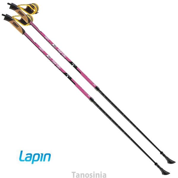 Lapin T2 Finland100 Nordic 伸縮タイプ ノルディックウォーキングポール