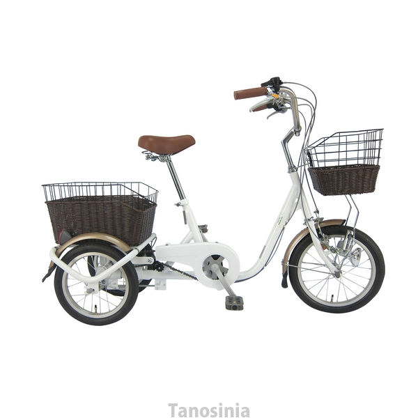 SWING CHARLIE ロータイプ三輪自転車G ホワイト MG-TRE16G ミムゴ THA
