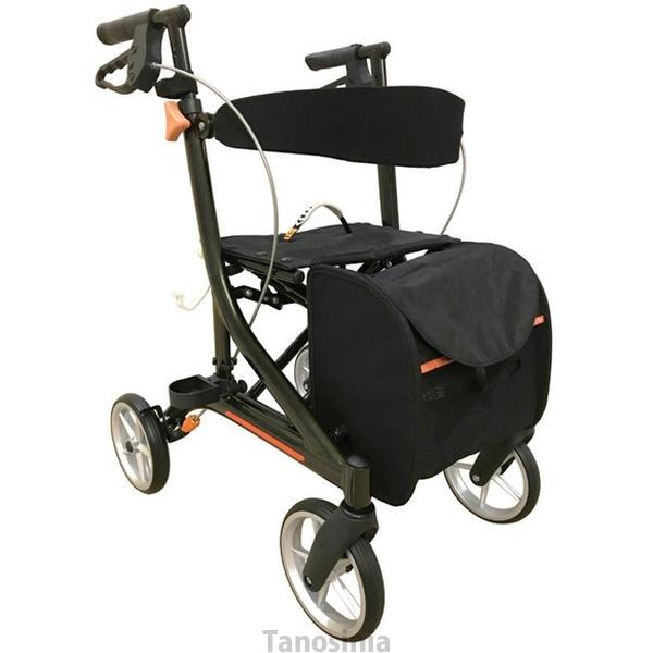 歩行器 介護用 ストリーム オービー / OB-20A 歩行車 hkz ディープグリーンブラック