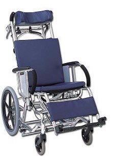 ティルティング&リクライニング車椅子 マイチルト MH-4R レザー仕様 hkz 介護用品