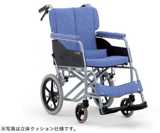 介助車いす REM-10 背折れ 在宅・室内用 ALL抗菌 hkz 介護用品