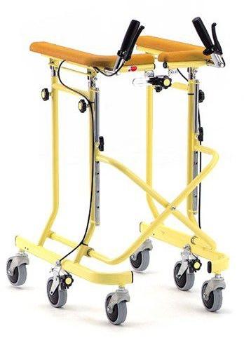 介護用品 6輪歩行器 らくらくウォーカー ホップステップ SM-40 在宅用 リハビリ 歩行補助 hkz