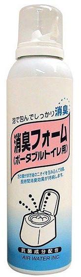 介護用品 消臭フォーム ポータブルトイレ用 1ケース20本入り (ケース販売)